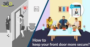 How to keep your front door more secure?