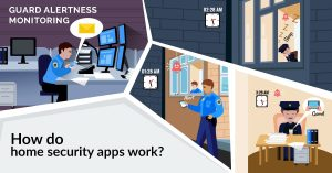 How do home security apps work?
